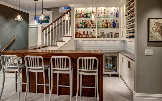 Amenajarea unui bar la subsolul casei
