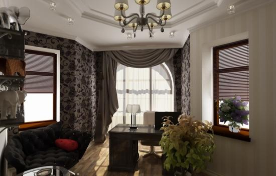 Proiect de design birou acasa