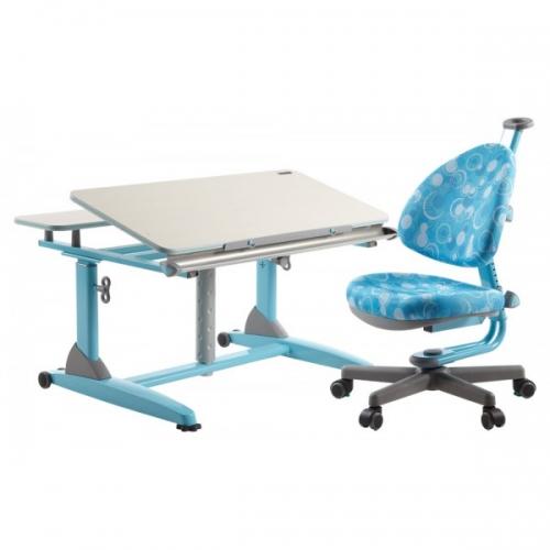 Birou pentru scoala reglabil pe inaltime si scaun ergonomic