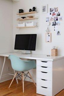 Idee entru amenajarea unui birou cu calculator pentru scolari
