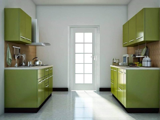 Bucatarii verzi: descopera poze, idei, modele de mobila si combinatii de culori