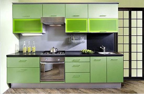 Mobilier verde modern