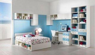 Dormitor bleu adolescente