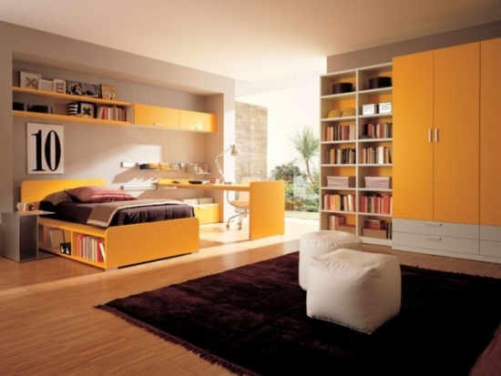 Dormitor elegant adolescente