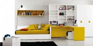 Dormitor minimalist adolescenti