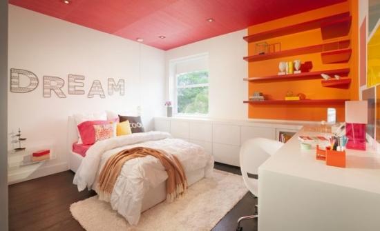 Dormitor modern adolescenti
