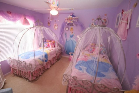 Amenajare dormitor gemeni