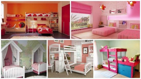 Dormitoare fete gemene