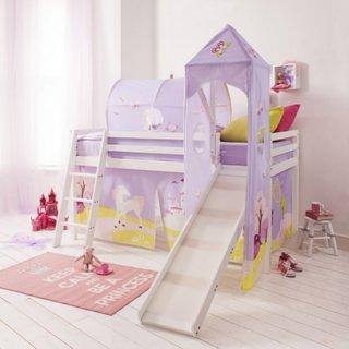 Dormitor fetite cu par supraetajat
