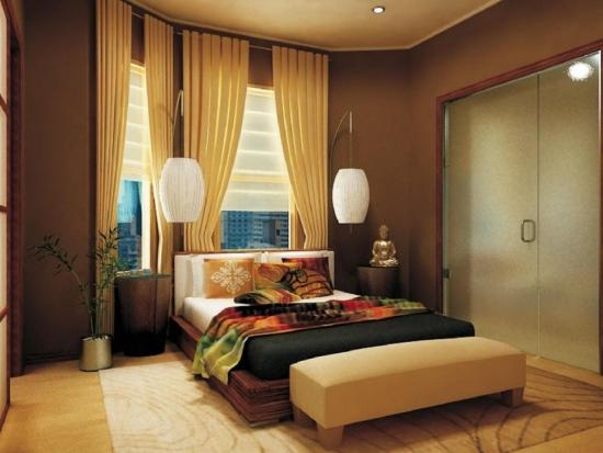 Idee dormitor amenajat Feng Shui