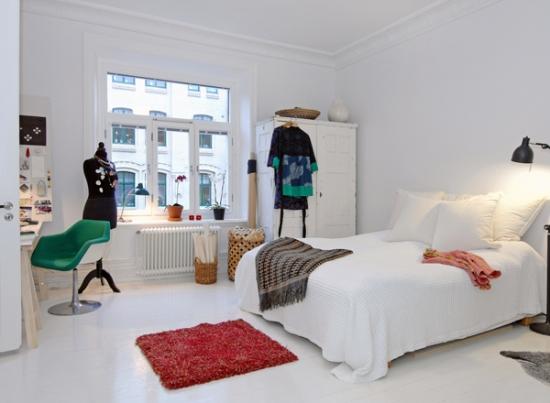 Dormitor cu sifonier mic in 2 usi