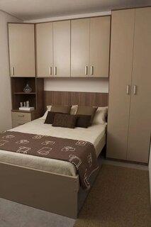Mobila pentru un dormitor de mici dimensiuni