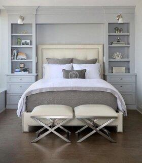 Mobilier de dormitor pentru spatii mici