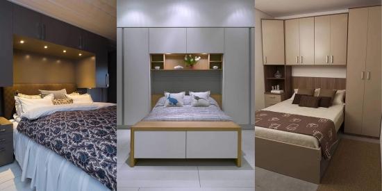 Amenajarea unui dormitor mic - Idei , tehnici de folosire cat mai utila a spatiului si 48 IMAGINI.
