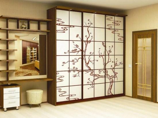 Design elegant dulap hol