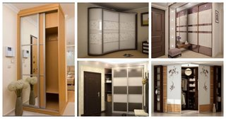 Mobilier pentru hol dulapuri cu usi glisante