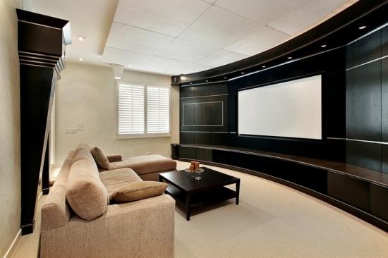 Camera home TV cu canapea sectionala