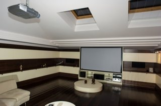 Camera home cinema amenajata modern