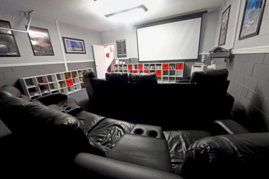 Idee pentru amenjarea unui home cinema