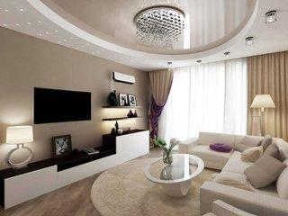 Living maro exemplu de amenajare moderna apartament