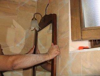 Testare pozitionare corecta oglinda cu etajera