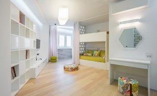 Idee pentru amenajarea unei camere de copil cu pat etajat