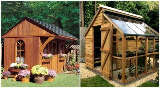 Modele de magazii si soproane pentru curte si gradina - idei simple pe care le poti face singur!