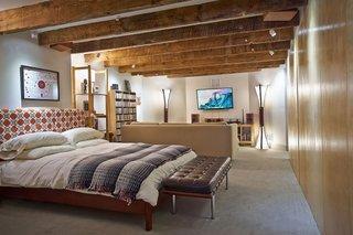 Dormitor la subsol