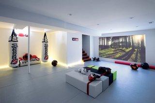 Sala de sport in subsol