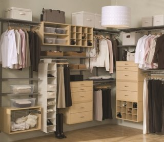 Mobilier dressing walk-in