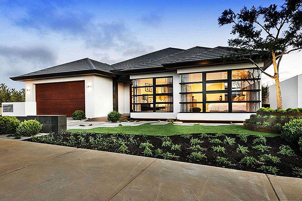 Proiecte case cu parter si suprafata pana in 100 mp - avantaje, dezavantaje, costuri, schite si planuri