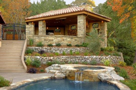 Model de gradina terasata