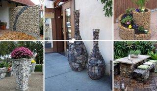 Folosirea gabioanelor la proiecte de exterior