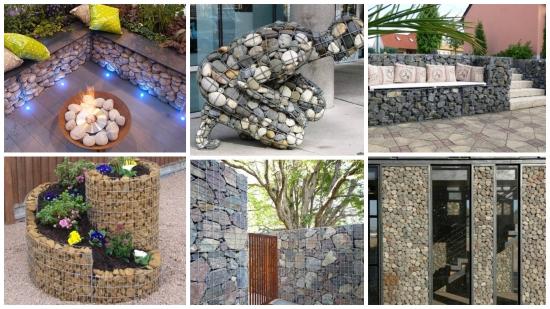 Amenajari cu gabioane - idei superbe care iti transforma radical spatiul exterior