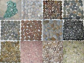 Covorase multicolore din pietre