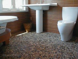 Pardoseala baie din pietre