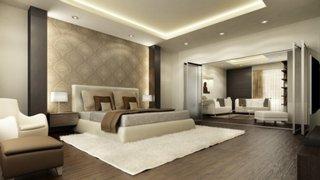 Design cu spoturi dormitor