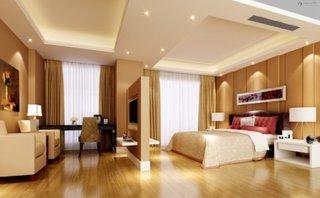 Dormitor modern cu televizor