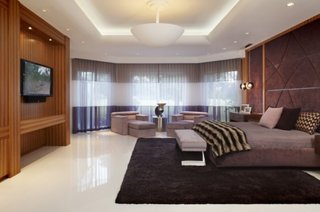 Idee amenajare dormitor de mari dimensiuni