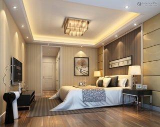 Idee tavan modern pentru dormitor