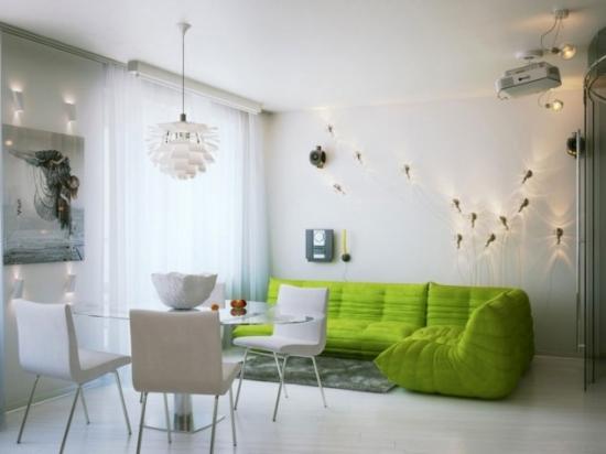 Mobilier verde living