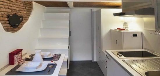 Apartamentul de 7 metri patrati - IATA cum poti amenaja functional si elegant o locuinta minuscula