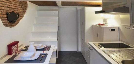 Amenajare apartament de 7 metri patrati