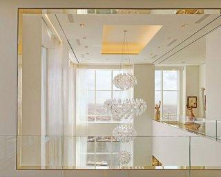 Balustrade de sticla la etajul locuintei