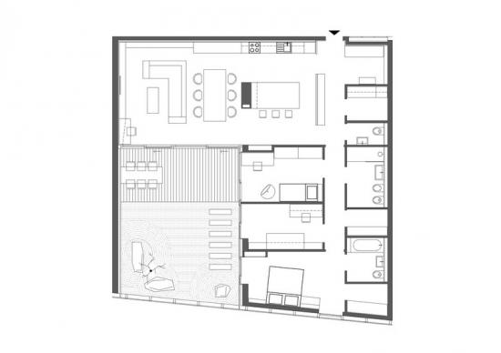 Plan de amenajare interioara apartament