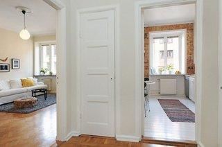 Idee amenajare apartament mic cu mobila stil suedez