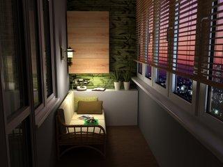 Corp de iluminat pentru balcon special pentru citit