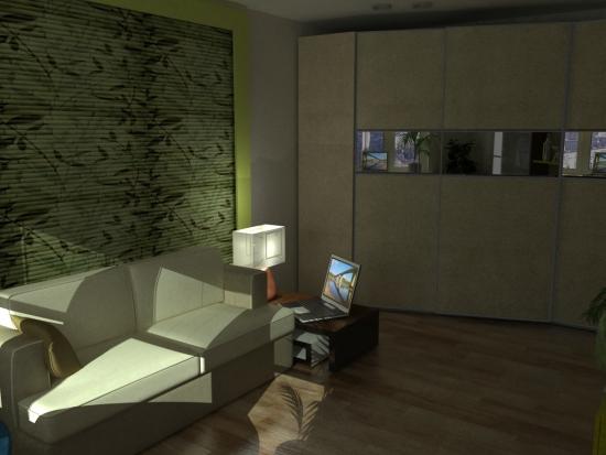 Corpuri de iluminat inedite pentru living amenajat in stil eco