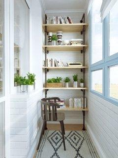 Idee de amenajare a unui balcon mic de apartament