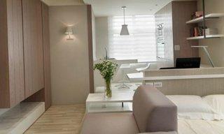 Apartament studio amenajat minimalist